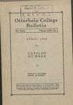 1926 Otterbein Bulletin