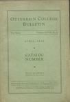 1931-1932 Otterbein College Bulletin