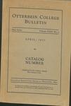 1932-1933 Otterbein College Bulletin