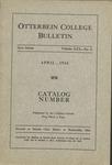 1933-1934 Otterbein College Bulletin