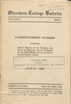 1939 July Otterbein College Bulletin