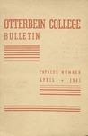 1940-1941 Otterbein College Bulletin