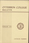1942-1943 Otterbein College Bulletin