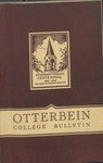 1944-1945 Otterbein College Bulletin