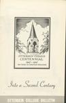 1947 Otterbein College Centennial Bulletin