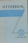 1950-1951 Otterbein College Bulletin