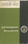1958-1960 Otterbein College Bulletin