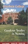 2001-2003 Otterbein College Graduate Studies in Nursing