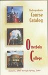 2003-2005 Otterbein College Undergraduate Course Catalog