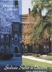 2001-2003 Graduate Studies in Education Course Bulletin