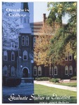2002-2004 Otterbein College Graduate Studies in Education Course Bulletin