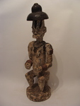 African Wood Sculpture by unknown