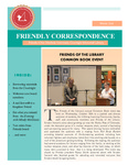 2016 Winter - Friendly Correspondence Newsletter by Courtright Memorial Library Otterbein University