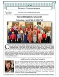 2014 Spring - Friendly Correspondence Newsletter