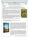 2014 Fall - Friendly Correspondence Newsletter