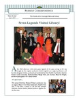2011 Spring - Friendly Correspondence Newsletter