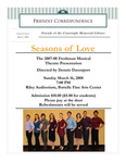 2008 Spring - Friendly Correspondence Newsletter