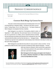 2005 Summer - Friendly Correspondence Letter by Courtright Memorial Library Otterbein University