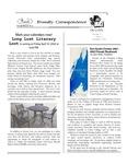 2001 Winter - Friendly Correspondence Newsletter