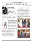 2002 Fall - Friendly Correspondence Newsletter