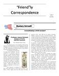 2000 Summer - Friendly Correspondence Newsletter