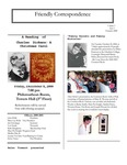 2000 Fall - Friendly Correspondence Newsletter