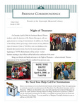 2005 Winter - Friendly Correspondence Newsletter
