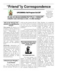 1999 Summer - Friendly Correspondence Newsletter