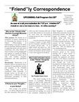 1999 Summer - Friendly Correspondence Newsletter