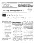 1999 Spring - Friendly Correspondence Newsletter