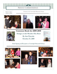 2010 Winter - Friendly Correspondence Newsletter
