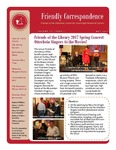2017 Spring - Friendly Correspondence Newsletter by Courtright Memorial Library Otterbein University