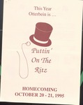 """1995 Homecoming: """"Puttin' On the Ritz"""" by Otterbein University"""