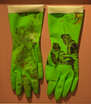 Michelle's Gloves #2 (Green) Closeup