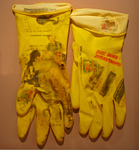 Michelle's Gloves #1 (yellow) Closeup