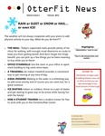OtterFit News February 2011 by Annette H. Boose