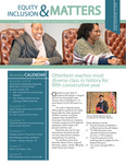 Equity & Inclusion Matters November 2018
