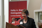 The inaugural Kathy A. Krendl Distinguished Lecture Series Invitation by Otterbein University