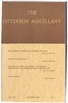 The Otterbein Miscellany - December 1980 by Thomas J. Kerr IV, Cecile Gray, Margaret Hartman, Paul L. Laughlin, James Carr, James Gorman, Paul Redditt, Albert A. Lovejoy, and J. Patrick Lewis