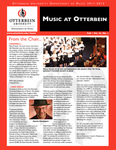 Music at Otterbein Fall 2011 Newsletter