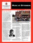 Music at Otterbein Fall 2012 Newsletter
