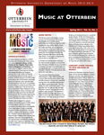 Music at Otterbein Spring 2013 Newsletter
