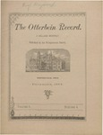 The Otterbein Record December 1884