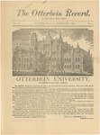 The Otterbein Record February 1884