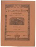 The Otterbein Record June 1884