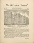 The Otterbein Record March 1884