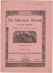 The Otterbein Record May 1884