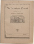 The Otterbein Record October 1884