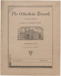 The Otterbein Record January 1885