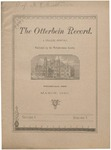 The Otterbein Record March 1885